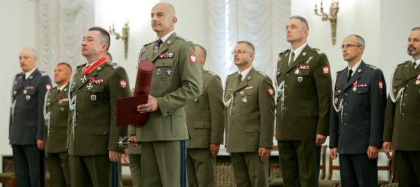 Uroczystość mianowania nowego Szefa Sztabu Generalnego WP