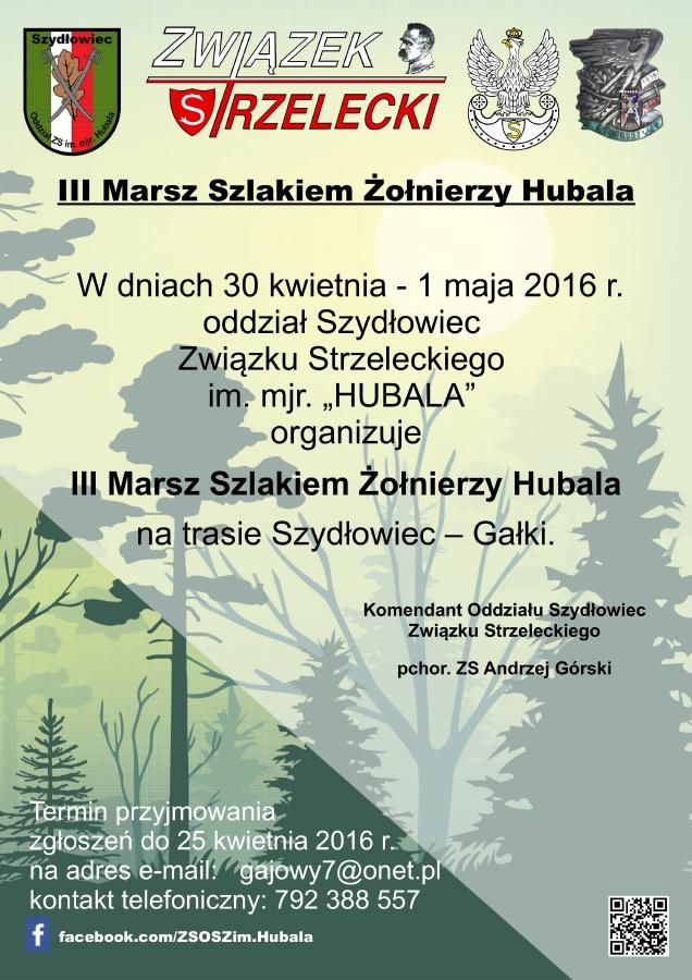 plakat_III_marsz_slakiem_zolnierzy_Hubala_900